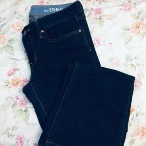 GAP Jeans - 29/8L Gap 1969 Curvy Boot Cut Jeans Dark Wash NWT